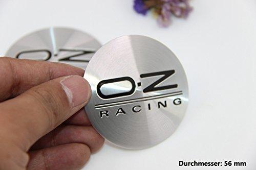 R288 OZ 2 stück Felgendeckel 3D Emblem mobil Auto Aufkleber Nabendeckel Radkappen Nabenkappen 56 mm - Nabendeckel Jeep Schwarz