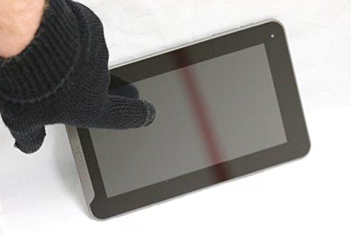 Preisvergleich Produktbild Navitech Schwarze Touch Screen Handschuhe Für Alle Smart Phones Und Tablets wie das Sony Xperia X10 & 10i,  sony xperia x10 mini,  sony xperia pro,  sony xperia x10 mini pro,  Sony Ericsson Xperia Neo,  Sony Ericsson Xperia Arc,  Sony Ericsson Xperia