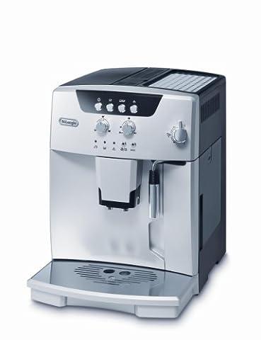 De'Longhi Magnifica ESAM 04.110.S Kaffeevollautomat (Direktwahltasten und Drehregler, Milchaufschäumdüse, Kegelmahlwerk