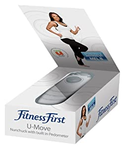 Mel B: Fitness First -U- Move Motion Nunchuk Controller with built-in Pedometer (Wii) from Blaze
