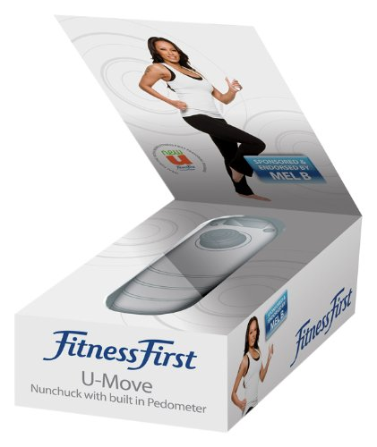 Price comparison product image Mel B: Fitness First -U- Move Motion Nunchuk Controller with built-in Pedometer (Wii)