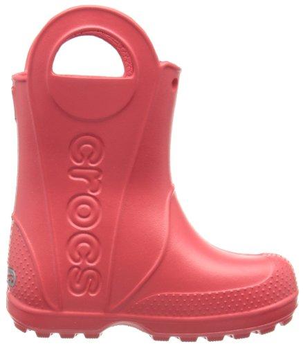 Crocs Handleit, Bottes mixte enfant Rouge (Red)