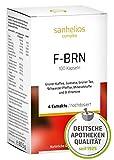 Sanhelios F-BRN Kapseln | Hochdosierter Fatburner zum Abnehmen, Apothekenqualität | Guarana,...