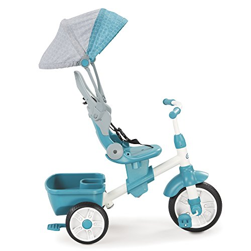 Little tikes - Tricycle Perfect Fit - 4 en 1- 4 Etapes pour grandir avec...
