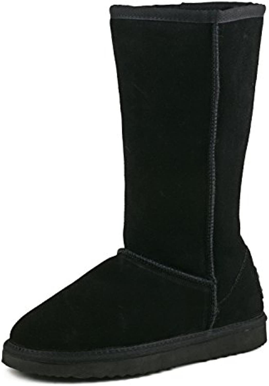3b99762df465 Shenduo Women s Leather Classic Tall Tall Tall Snow Boots DA5815 B07FF29XHZ  Parent c3ece7