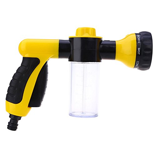 (myfei Multifunktions Auto Schaumstoff Wasser Gun, Waschmaschine Wasser Portable High Druck Waschen Wasser Pistole für Home Garten Outdoor Schaumstoff)