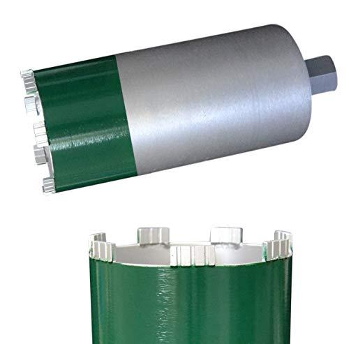 """MDW Diamant Trocken-Bohrkrone Ø 52-250 mm Premium Nutzlänge 260 mm für Kernbohrmaschine 1 1/4\"""" UNC (Gewinde ca. 32 mm/SW 41 mm)"""
