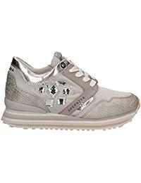 APEPAZZA scarpe donna sneakers basse RSD03 MATERIALMIX RUBY GHIACCIO 0445b87260b