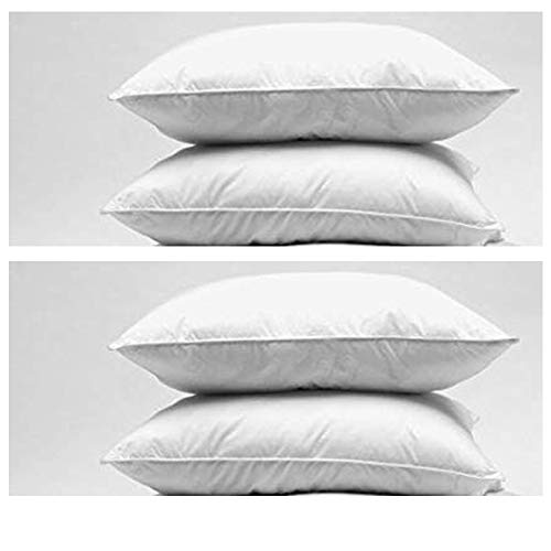 Duck Feather and Down Twin Pillow Pack 48 x 74 cm by Home Sweet Home (Twin Pack-bett Kissen)