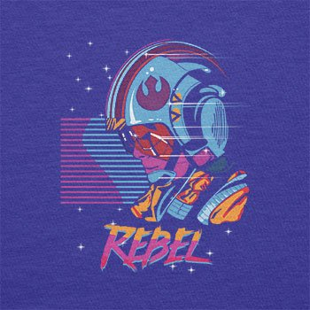 TEXLAB - Rebel Wave - Damen T-Shirt Marine
