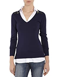 Morgan - Pull - Uni - Manches longues - Femme