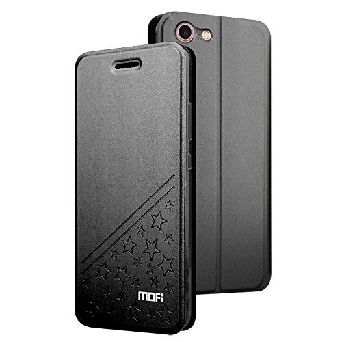 GHC Cases & Covers, Für iPhone 7 PU Fünf-spitzes Stern-Muster-horizontaler Schlag-Leder-Kasten mit Halter ( Color : Black ) Black