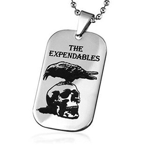 The Expendables 2 Aquila Skull Dog Tag pendente della collana i monili degli Expendables 3 Cosplay