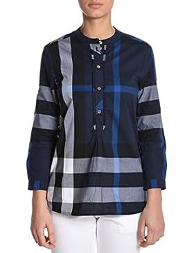 Burberry Mujer TRI8802740178134100B Azul Algodon Camisa