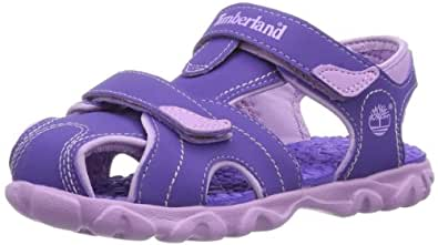 Timberland Splashtown Closed Toe, Boys' Sandals, Purple/Lilac, 7.5 UK Child, 8 US, 25 EU