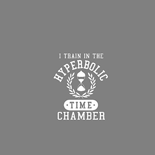 DBZ: I train in the Hyperbolic Time Chamber - Stofftasche / Beutel Weiß