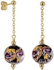 Bella Donna Damen-Ohrhänger 585 Gold