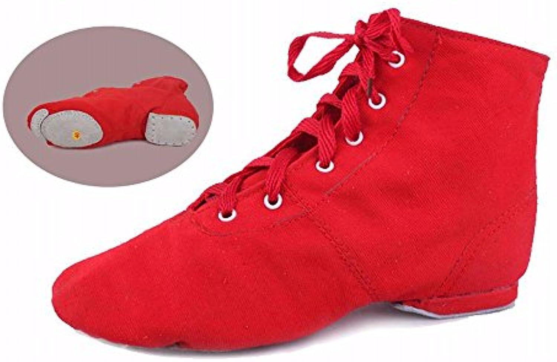 xiao123 Women's Latin Dance Soft-Soled Adult Cowboy Dance Sandals Silver Leather Knots 5 Points Einfache Bequemeö