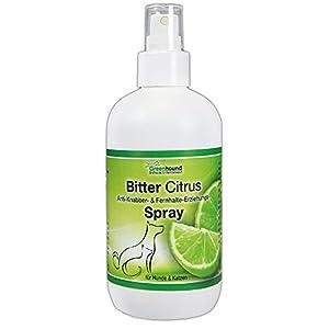 Bitter Citrus Spray zum Verhindern des ankauens und Abwehr Spray für Hunde und Katzen