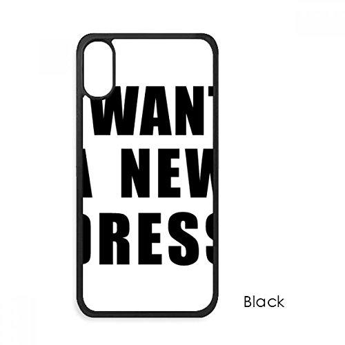 (beatChong Ich möchte Kleid für iPhone X-Hüllen phonecase Apple-Abdeckungs-Hüllen-Geschenk)