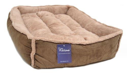 Luxury Fleece Cradle Dog Bed Size Extra Large XL 3
