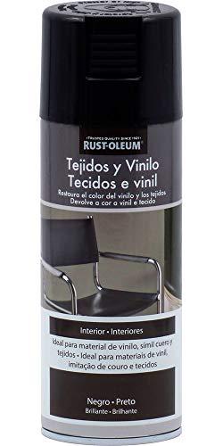 Spray Tejidos Vinilo Negro Rust-Oleum 400