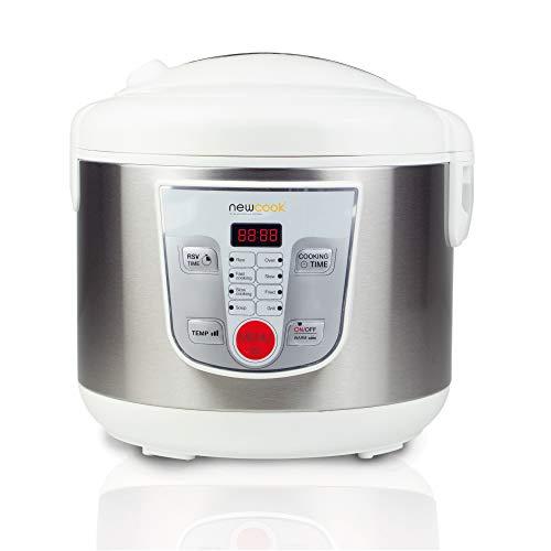 NEWCOOK Robot de Cocina Multifunción, Capacidad 5 Litros, Programable Hasta 24H, Cocina Automáticamente...