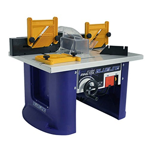 PINGTEK BLUELINE 240V BENCH TOP ROUTER TABLE WITH BUILT IN 1500W (2HP) ROUTER
