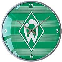 Wanduhr Streifen SV Werder Bremen