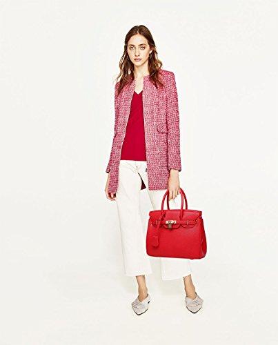 Sunas Sacchetti trasversali della borsa delle nuove donne di estate adattano il raccoglitore retro del sacchetto del messaggero della spalla rosso