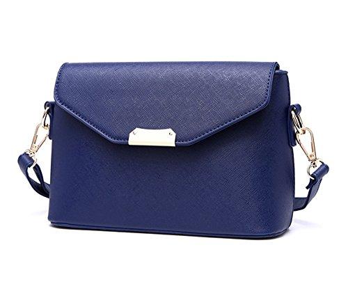 Borsa a mano, moda marea temperamento mare mini Europa casual e gli Stati Uniti spalla zaino obliqua, versione coreana del pacchetto ( Colore : Blu zaffiro ) Blu zaffiro