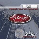 Stagg BA-4525-5S Jeu de 5 cordes pour Basse Medium (45-65-85-105-125)