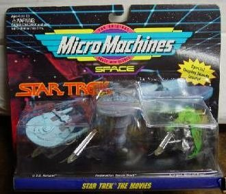 Star Trek Micro Machines The Movies Collection #3