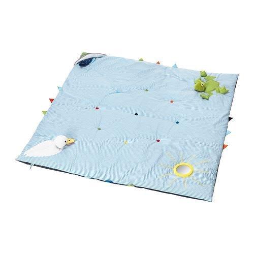 LEKA - Spielteppich, blau