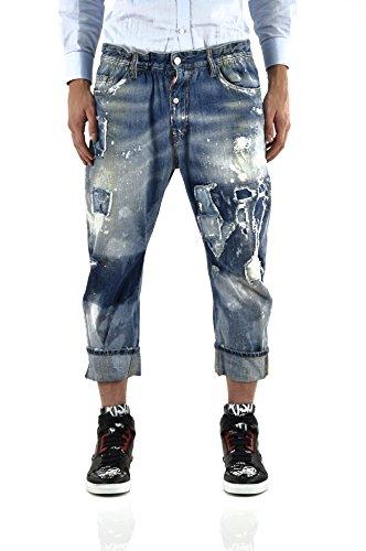 Preisvergleich Produktbild Dsquared2 Men's BIG DEAN'S BROTHER JEAN Blue - size 50