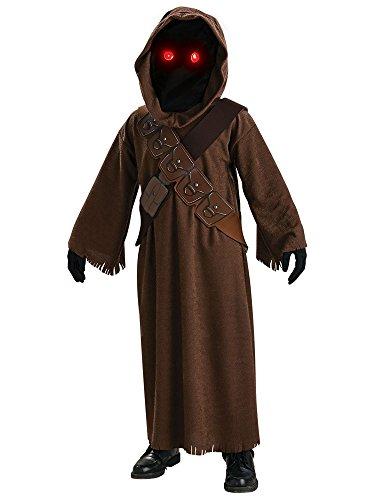 JAWA Kinder Fancy Kleid Star Wars Science Fiction Halloween Movie Kinder Kostüm (Star Wars Jawa Kind Kostüm)