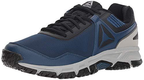Reebok Ridgerider Trail 3.0, Stivali da Escursionismo Uomo, Multicolore (Bunker Blue/Black/Tin Grey 000), 42 EU
