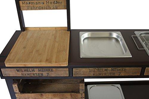 Outdoorküche Edelstahl Xxl : Outdoorküche außenküche gartenküche sommerküche partyküche mit