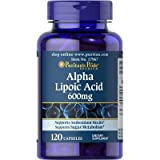Alpha Lipoic Acid 600 mg x 60 Capsules antioxidant revitalize