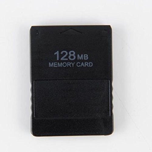 Schwarz New 128MB Flash Memory Card für Sony PS2Playstation 2Große Hohe Qualität