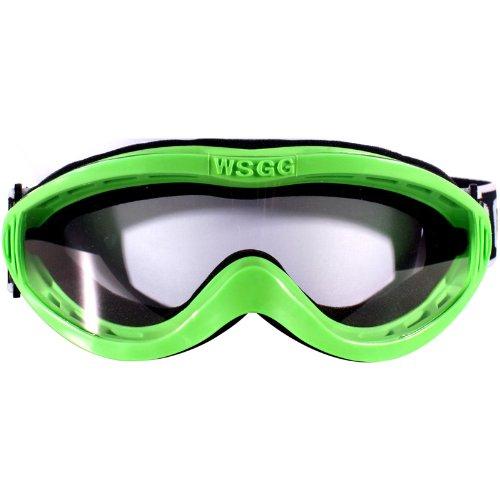 Dixon WSGG Micro Erwachsene Schwimmbrille Grün (Racing Pro Goggles)