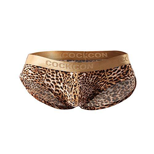 Transer Sexy Unterwäsche Dessous Phnom Penh Leopard Niedrige Taille Atmungsaktive Unterwäsche Unterhosen Slips Höschen (Leopard-mesh-höschen)