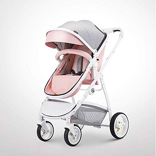 KOIUJ Faltbare Luxus Kinderwagen Travel System mit
