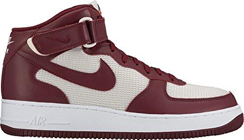 Preisvergleich Produktbild Nike Herren Schuhe / Sneaker Air Force 1 Mid 07 rot 45.5