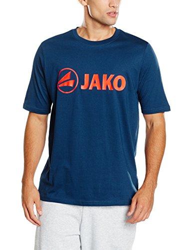 JAKO Herren T-Shirt Promo, nightblue/flame, 4XL -