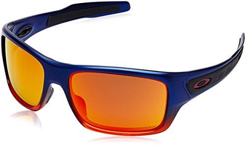 Oakley Herren Turbine 926344 63 Sonnenbrille, Orange Pop Fade/Prizmruby (Sonnenbrille Oakley Orange)