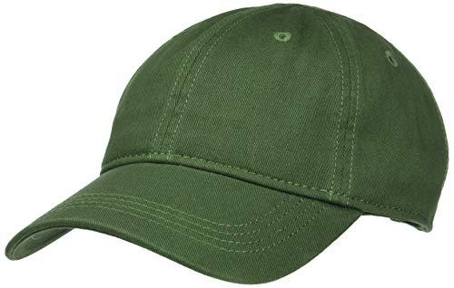 Lacoste Herren Rk9811 Schirmmütze, Grün (Caprier 3m9), One Size (Herstellergröße: TU) Green Baseball-kappe