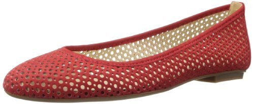 French Sole FS/NY Women's League Ballet Flat,Red,8.5 M US (Ballet Red Flat)