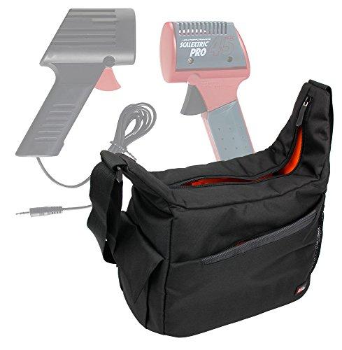 DURAGADGET Bandolera Para Mandos De Scalextric Compact / Scalextric Original - Con Compartimentos Interiores Y Correa De Hombro Ajustable