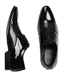 Digitrendzz Men's Patent Leather Formal Shoes for Men's Formal Shoes